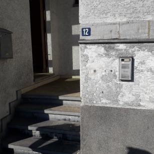 Hastière route de Philippeville 12 - entrée appartement 2