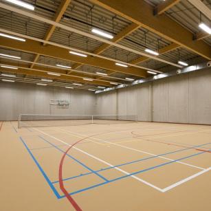 Antwerpen - Forensisch Psychiatrisch Centrum - Sportzaal | Anvers - Centre de Psychiatrie Légale - Salle de sport (c) VK Group