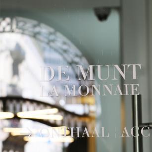 Brussel - Koninklijke Muntschouwburg - Deur | Bruxelles - Théâtre royal de la Monnaie - Porte