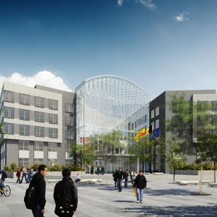 Namur - Palais de Justice - Vue de face (jour) | Namen - Justitiepaleis - Vooraanzicht (dag)