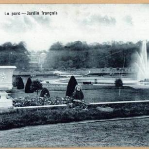 Tervuren - Koninklijk Museum voor Midden-Afrika - Archieffoto van de Franse tuin | Tervueren - Musée royal de l'Afrique centrale - Photo d'archive du jardin français