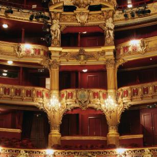 Brussel - Koninklijke Muntschouwburg - Binnenaanzicht | Bruxelles - Théâtre royal de la Monnaie - Vue intérieure
