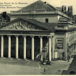 Brussel - Koninklijke Muntschouwburg - Archief | Bruxelles - Théâtre royal de la Monnaie - Archive