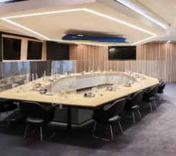 Salle du Conseil des ministres rénovée