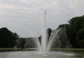 Tervuren - Afrikamuseum - Grote fontein | Tervueren - Musée de l'Afrique - Grande fontaine