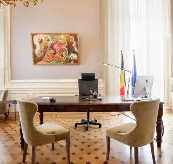 Le bureau du Premier ministre (© SPF Chancellerie du Premier ministre)
