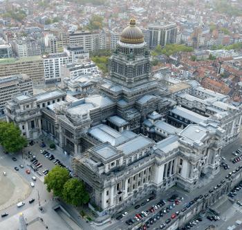 Bruxelles - Palais de Justice - Photo aérienne | Brussel - Justitiepaleis - Luchtfoto